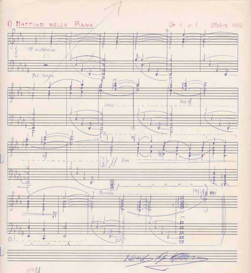 Evk - Mattino Nella Piana - Originale